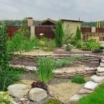 Сад ландшафтный за 2 дня