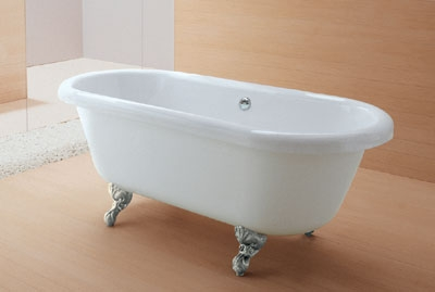 Акриловые ванны на ножках