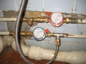 Недорогая установка водосчетчиков