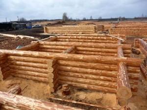 Строительство бани из сруба