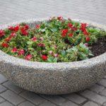 Купить красивые вазоны из бетона